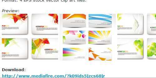 500x250 Unique Images Of Free Vector Business Card Business Cards And