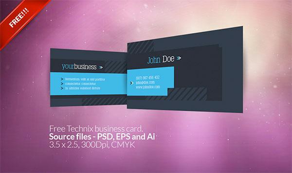 600x356 3 Free Vector Business Card Templates Creative Beacon
