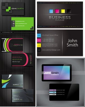339x425 Free Downloads Business Card Templates
