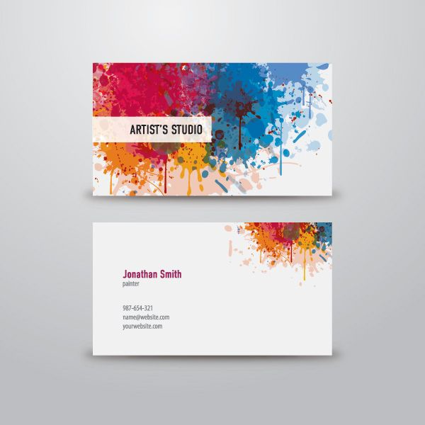 600x600 5 Excellent Free Vector Business Card Templates Business Card
