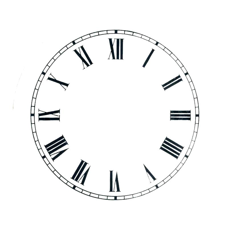 800x800 Vector Clock Face Download Free Art Stock Graphics Images
