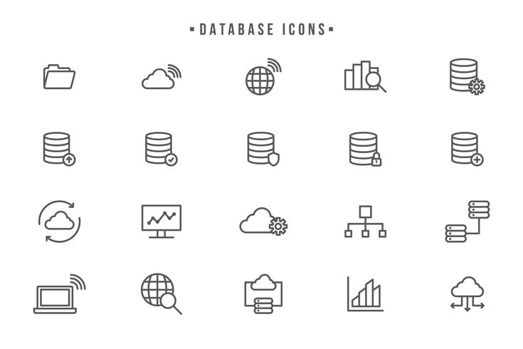 735x490 Free Data Base Vectors