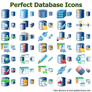 300x300 Perfect Database Icons Free Images