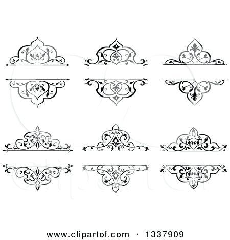 450x470 Ornate Design Swirl Ornate Elements Collection Designs Stock