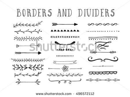 450x335 Free Vector Divider Lines Hand Made Wreath Vectors Download Free