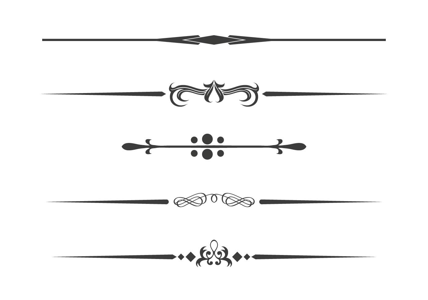 1400x980 Dividers Free Vector Art
