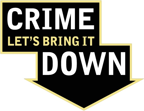 569x438 Crime Lets Bring It Down Free Vector In Encapsulated Postscript