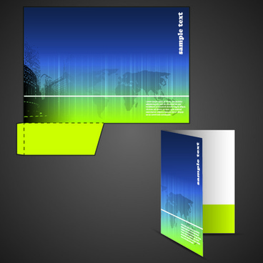 368x368 Business Folder Vector Template Vector Corporate Folder Ai Free