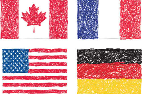 Free Vector Flags