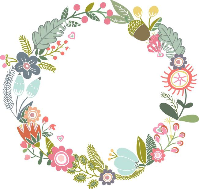 Free Vector Flower Border At Getdrawings Free Download