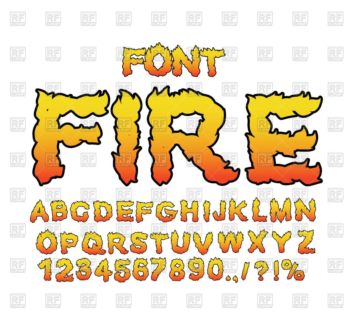 1200x1106 Fiery Font