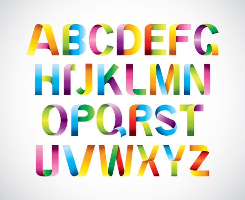 800x653 Font Design Series 39 Vector Free Vector 4vector