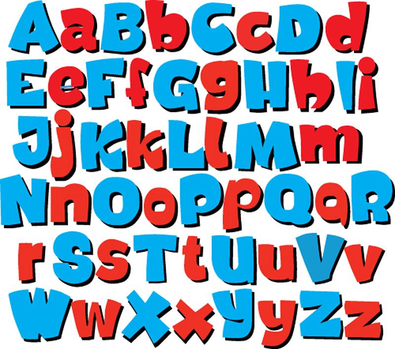 800x707 Free Vector Font