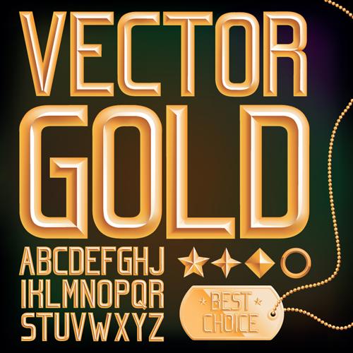 500x500 Set Of Different Alphabet Elements Design Vector 05 Free Download