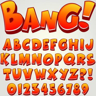 370x368 Vector Cartoon Font Alphabet Free Vector Download (18,719 Free