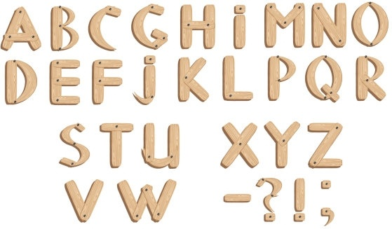 559x327 Vector Fonts Wood Grain English Free Vector In Encapsulated