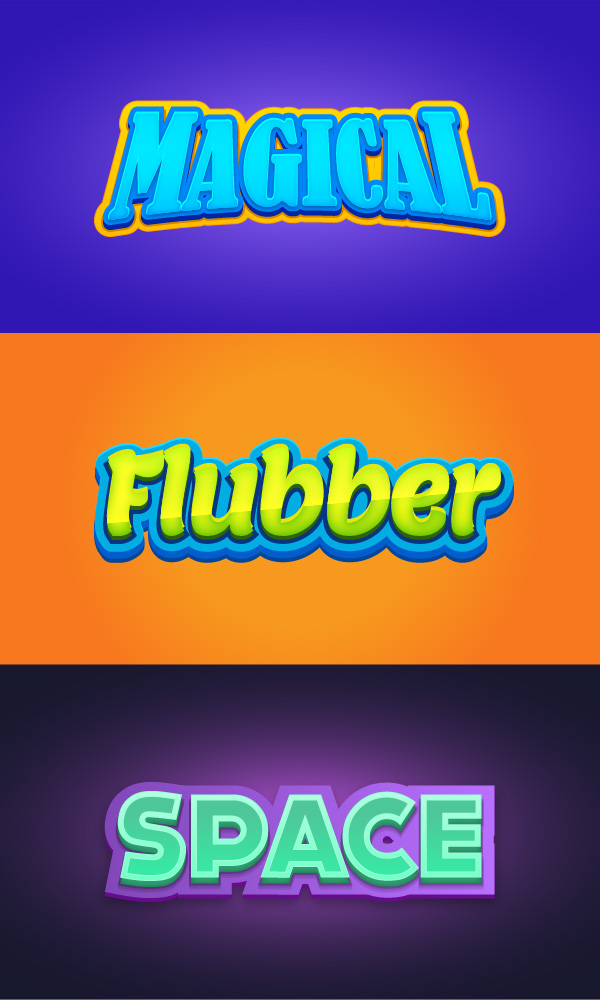 600x1000 Creative 3d Text Design Free Vector Free Download