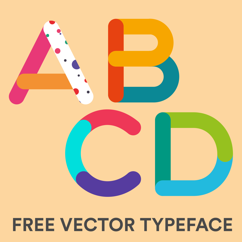 1500x1500 Tricolore Vector Typeface