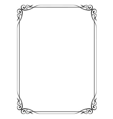 Free Vector Frame Border