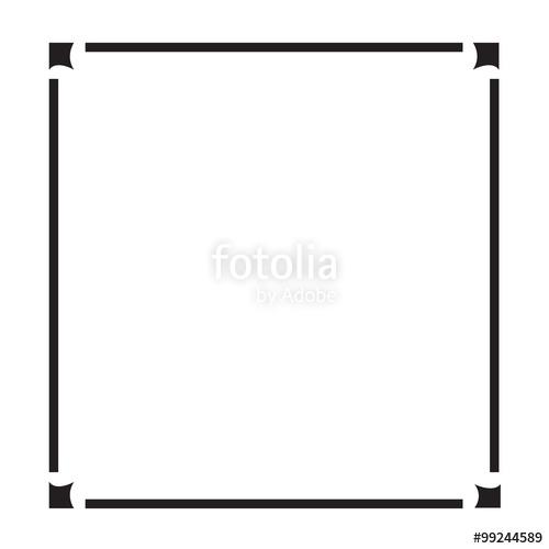 500x500 Frame Border Art Illustration Design Stock Image And Royalty Free