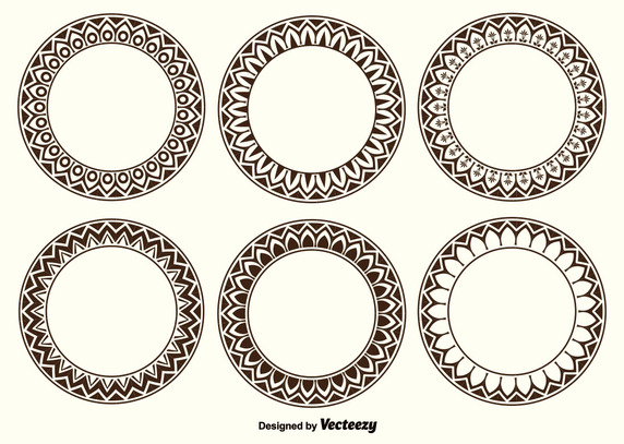 572x407 Decorative Frame Shapes Vector Free Vector Download In .ai, .eps