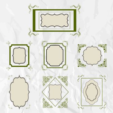 368x368 Photoshop Shapes Frames Free Vector Download (15,656 Free Vector
