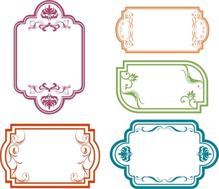 427x368 Round Frame Vector Free Vector Download (9,477 Free Vector) For