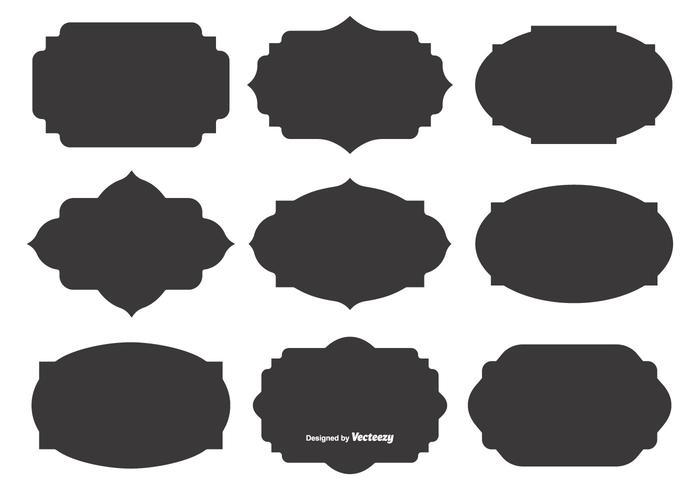700x490 Shapes Free Vector Art