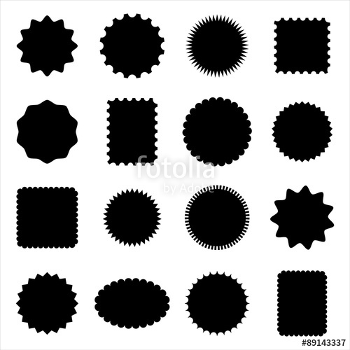 500x500 Stamp And Frame Shapes Stock Image And Royalty Free Vector Files