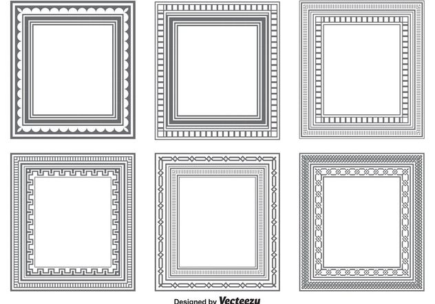 632x442 Vector Frame Shapes Free Vector Download 154771 Cannypic