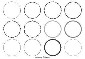 286x200 Circle Frame Free Vector Art