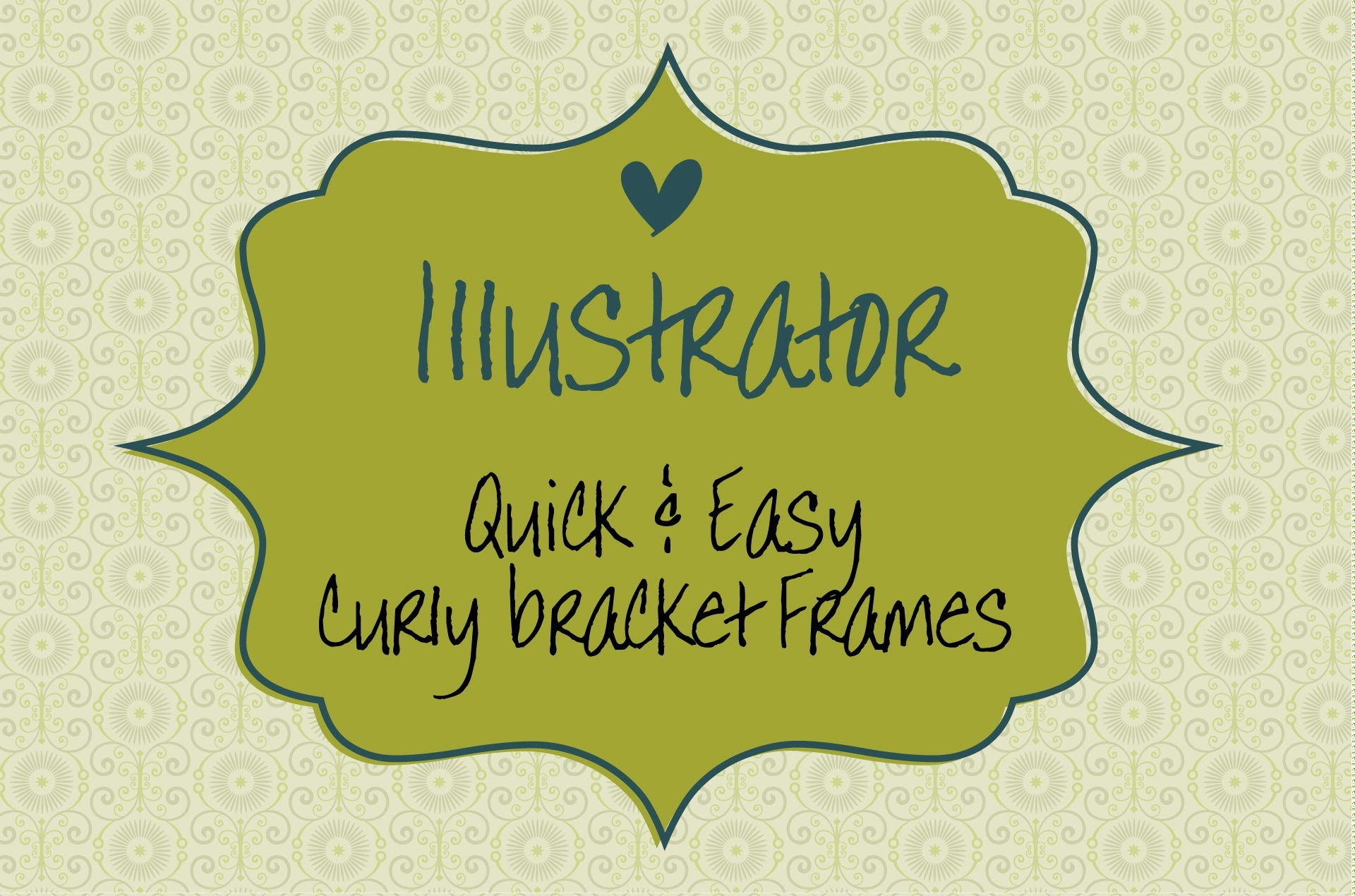1920x1270 Create Curly Bracket Frame Shapes In Illustrator Without Using The