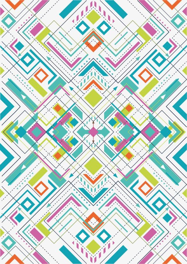 650x915 Geometric Shape Pattern, Geometric Vector, Pattern Vector