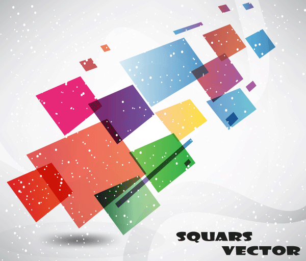 600x512 Abstract Squars Vector Free Graphic Background Free Vectors