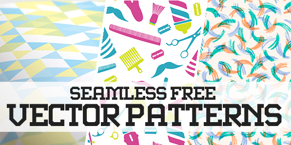 597x298 Pattern Design 35 Seamless Free Vector Patterns Pattern And