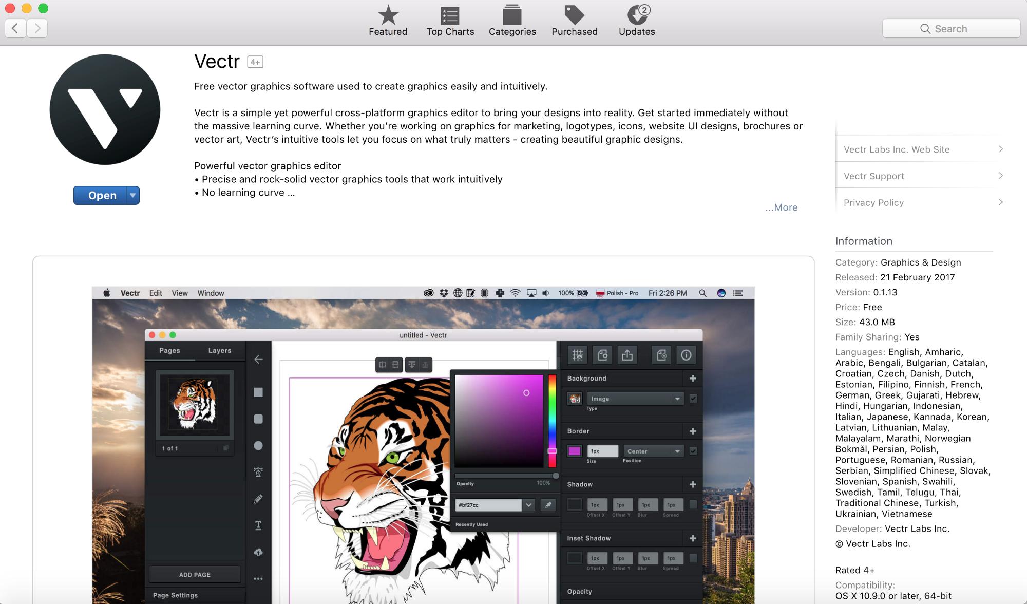 2000x1176 Vectr Free Vector Graphics Software Now @ Mac App Store