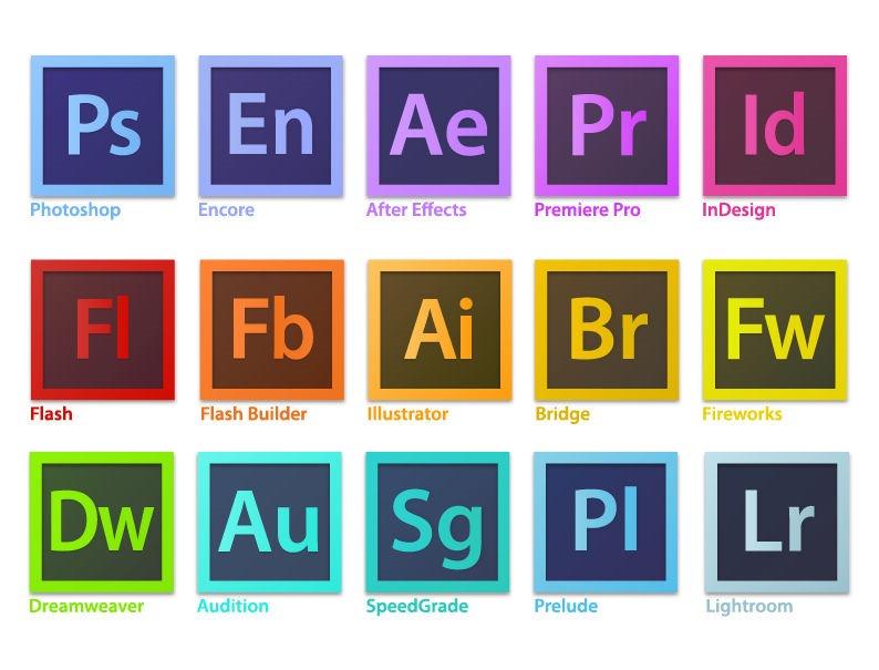 794x605 Adobe Creative Suite Family Software Logo Vector Free Vector
