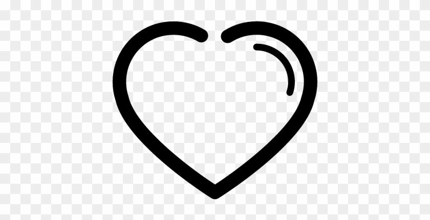 840x431 Heart Outline Shape Vector
