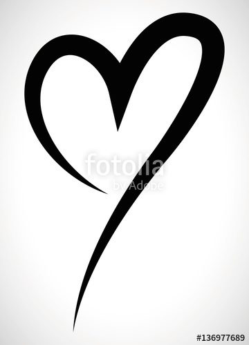 360x500 Heart Shape Illustration Stock Image And Royalty Free Vector
