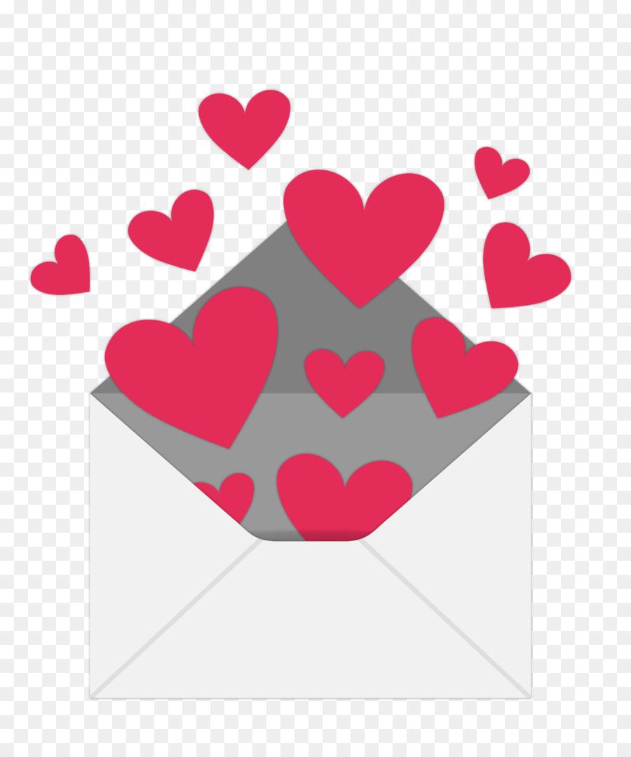 900x1080 Envelope Valentines Day Heart Love Letter