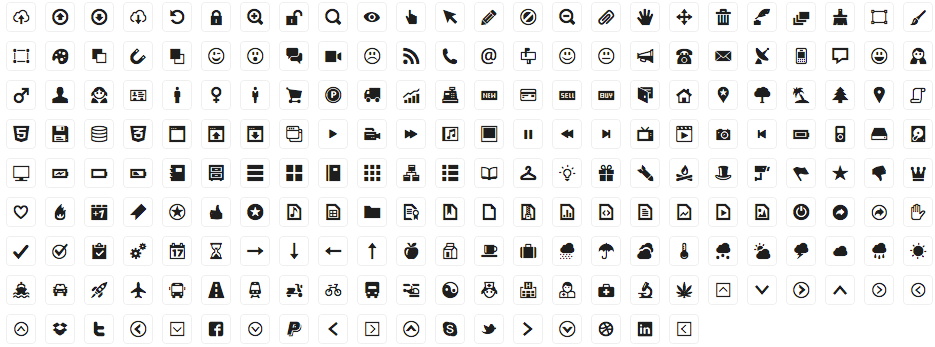 935x347 Free 210 Vector Icons For Web Design And Wireframing