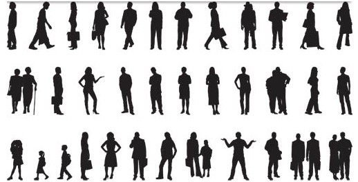 518x264 People Vector Graphic Ai Format Free Vector Download