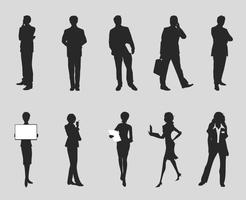 246x200 Business People Free Vector Art