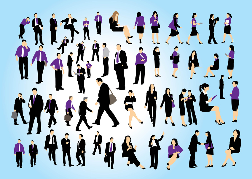 850x603 Business People Set Vector Art Amp Graphics
