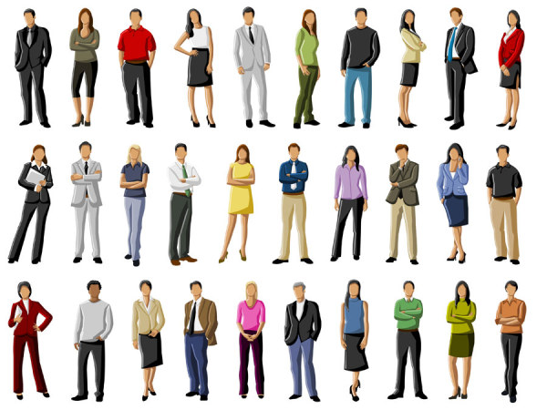 600x450 Different Occupations People Vector 1 Eps Format Free Vector