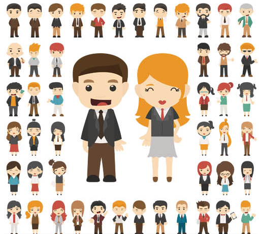 510x461 Flat People Free Vector Ai Format Free Vector Download