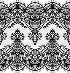 Free Vector Lace Border