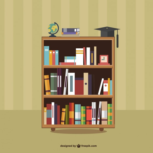 626x626 Library Shelf Vectors, Photos And Psd Files Free Download