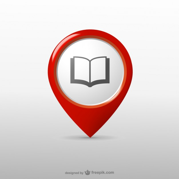 626x626 Library Location Icon Vector Free Download
