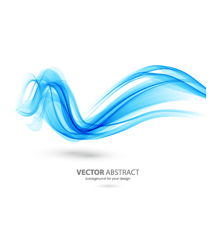 436x460 Colored Curved Lines Abstract Background Vector 13 Free Download